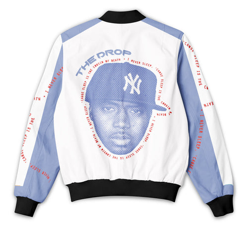 Nas - White & Blue Block - Tracksuit Jacket