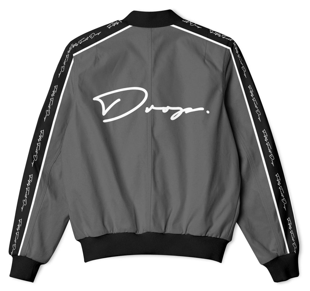 The Drop Dark Grey - Tracksuit Jacket