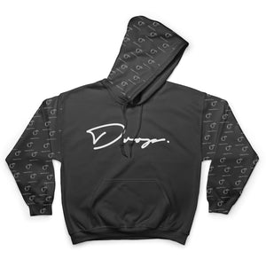 $hortfuse Collection - Fifty Foot Drop - Black Hoodie