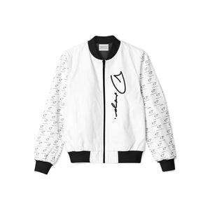 $hortfuse Collection - Fifty Foot Drop - White Tracksuit Jacket