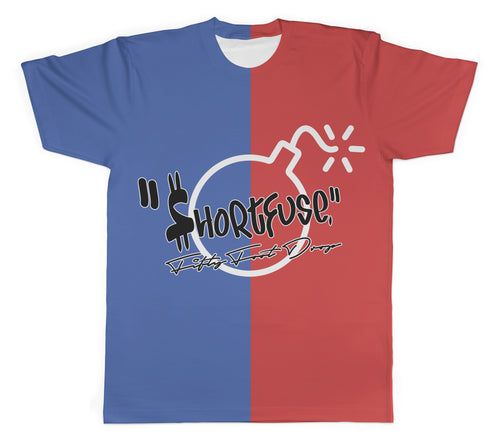 $hortfuse Collection - Fifty Foot Drop - Colourblock Tee