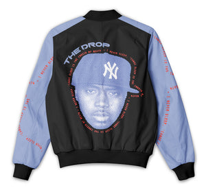 Nas - Black & Blue Block - Tracksuit Jacket