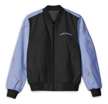 Load image into Gallery viewer, Nas - Black & Blue Block - Tracksuit Jacket