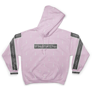 Pink Arrow - Sublimation Hoodie