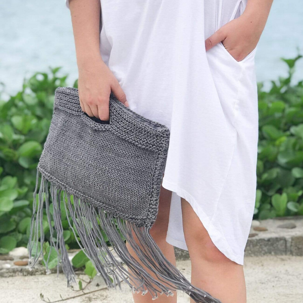 Soho Clutch with Fringe