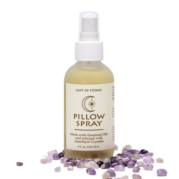 Pillow Spray Infused with Amethyst Crystals