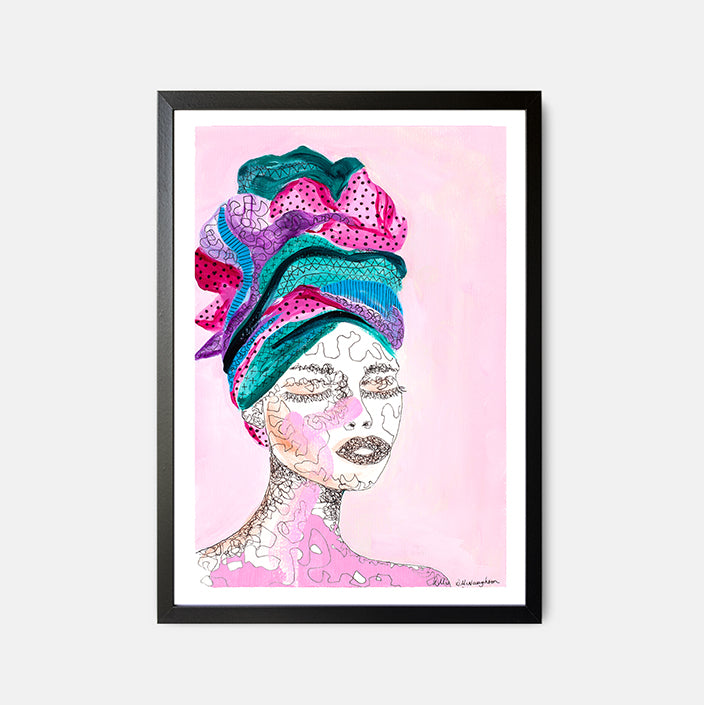 Deb McNaughton - Melbourne Artist - Limited Edition Art Print - Scribble - Melbourne - Aspendale