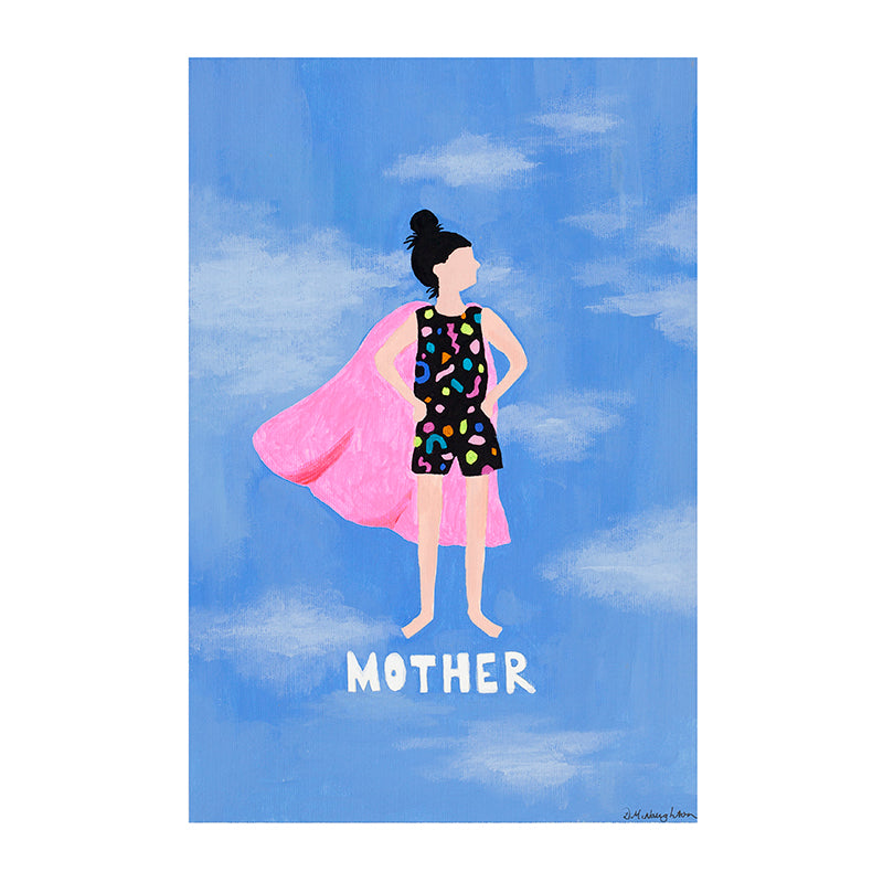 Deb McNaughton Artist - Limited Edition Art Print - Mother - Melbourne - Aspendale