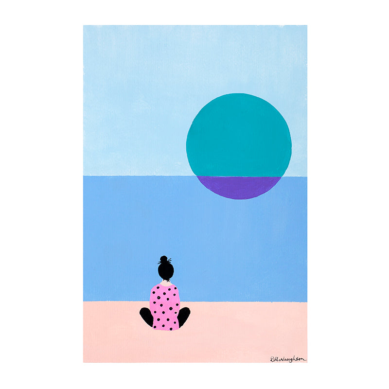 Deb McNaughton Artist - Limited Edition Art Print - Never Alone - Melbourne - Aspendale