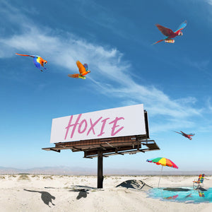 Hoxie Spritzer is a natural dry wine spritzer crafted from sustainably grown grapes natural botanicals Hoxie is 90 calories 5% abv gluten free vegan Sessionable bubbly spritz for the thirsty Like a hard seltzer only it's a wine spritzer Made in California