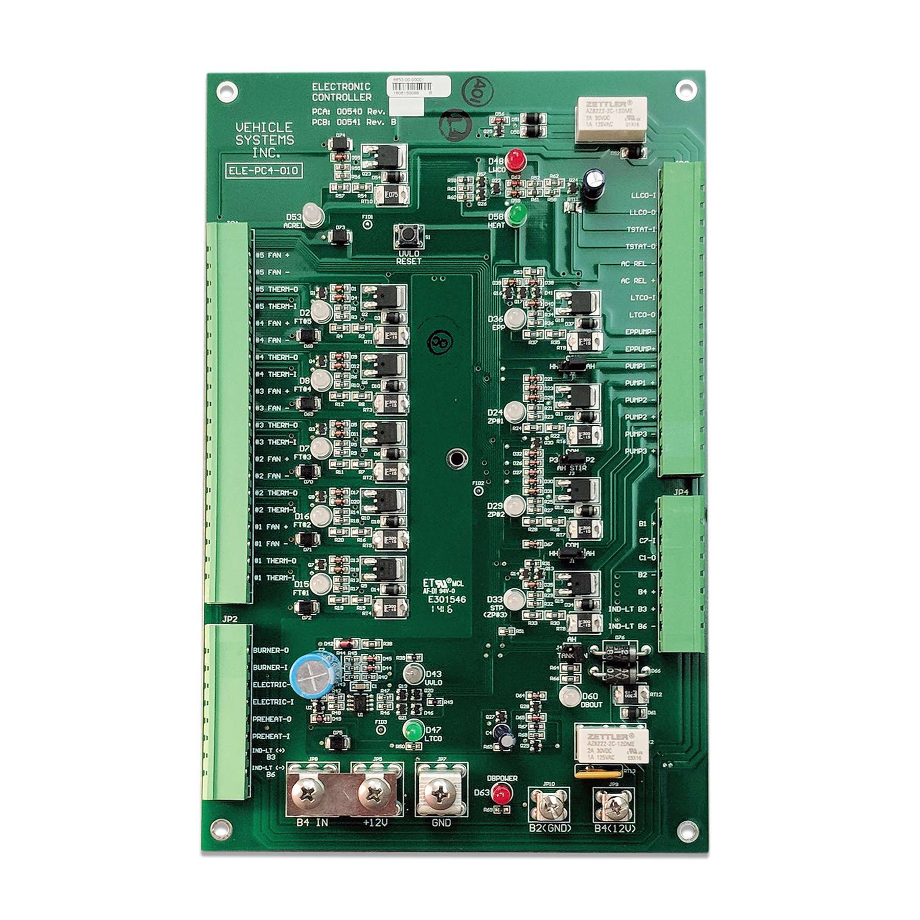 Electronic Control Board - ELE-PC4-010-AA