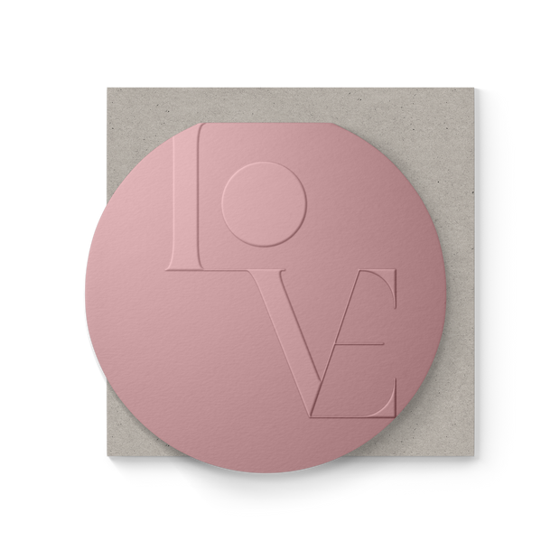 Love Blank Clamshell Greeting Card 1