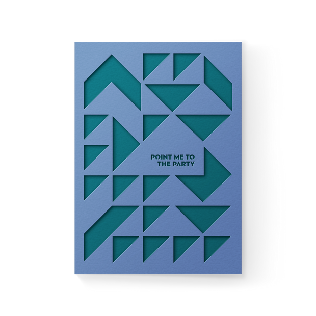 Point to Party Pocket Greeting Card 1