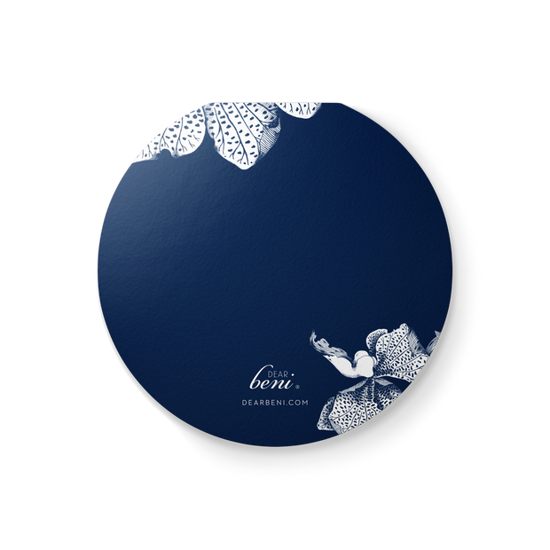 Classic Orchid Clamshell Everyday Card 1