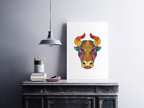 wooden-puzzle-bull-displayed