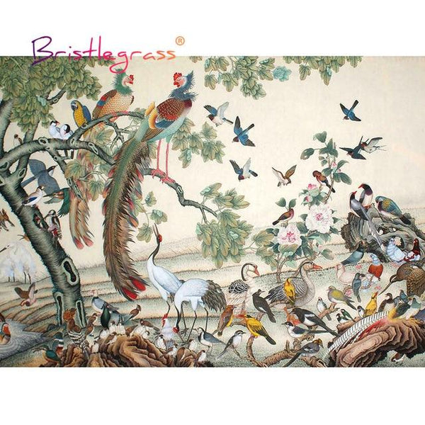 Birds of China - Wooden Jigsaw Puzzles - 500 or 1000 Pieces Purfect Puzzles 500 Pieces