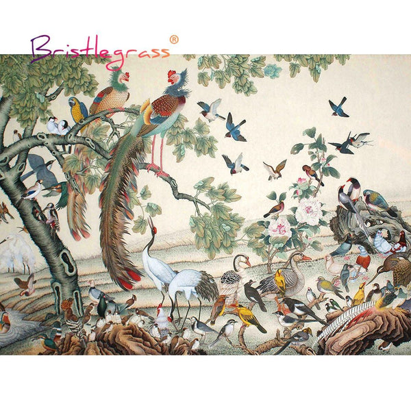 Birds of China - Wooden Jigsaw Puzzles - 500 or 1000 Pieces Purfect Puzzles