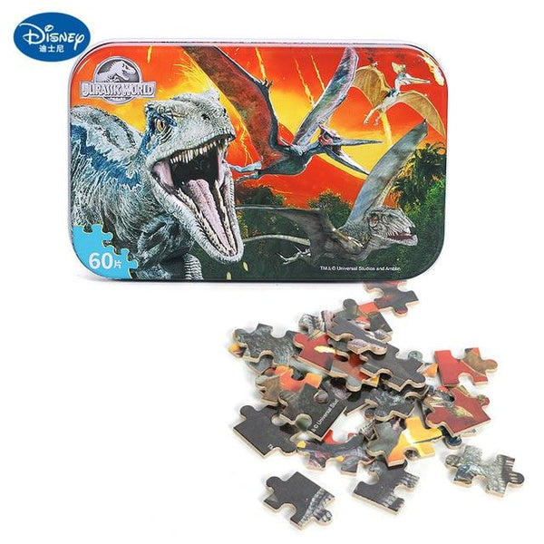 Disney Scenes - 3D Wooden Puzzles from Frozen Toy Story Mickey Mouse Jurassic Park Car Spiderman Princesses Nemo Avengers Purfect Puzzles 11