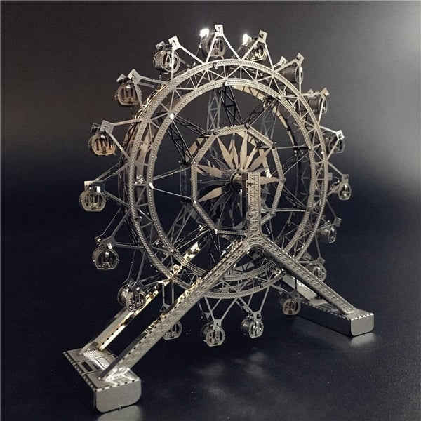 Ferris Wheel Fun - 3D Metal Moving Puzzle Purfect Puzzles
