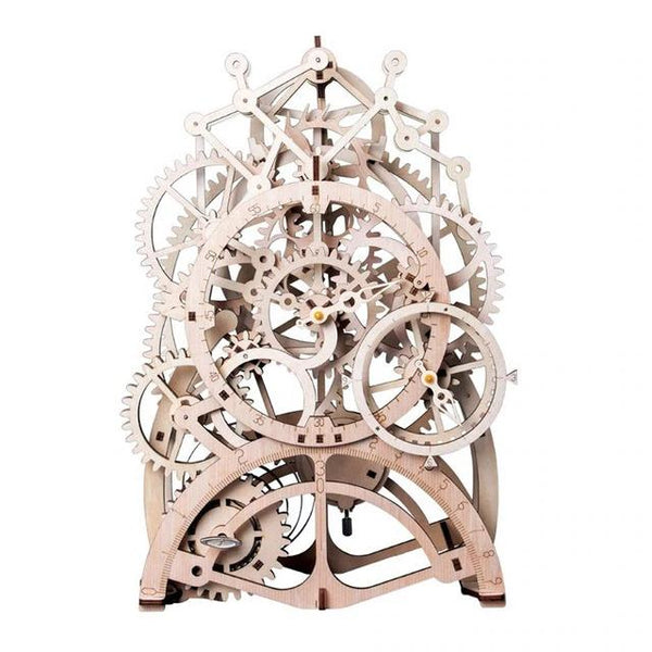 Pendulum Clock - 3D Wooden Puzzle Mechanical Gears Purfect Puzzles