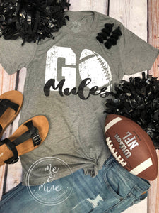 Go Mules - Football Tee