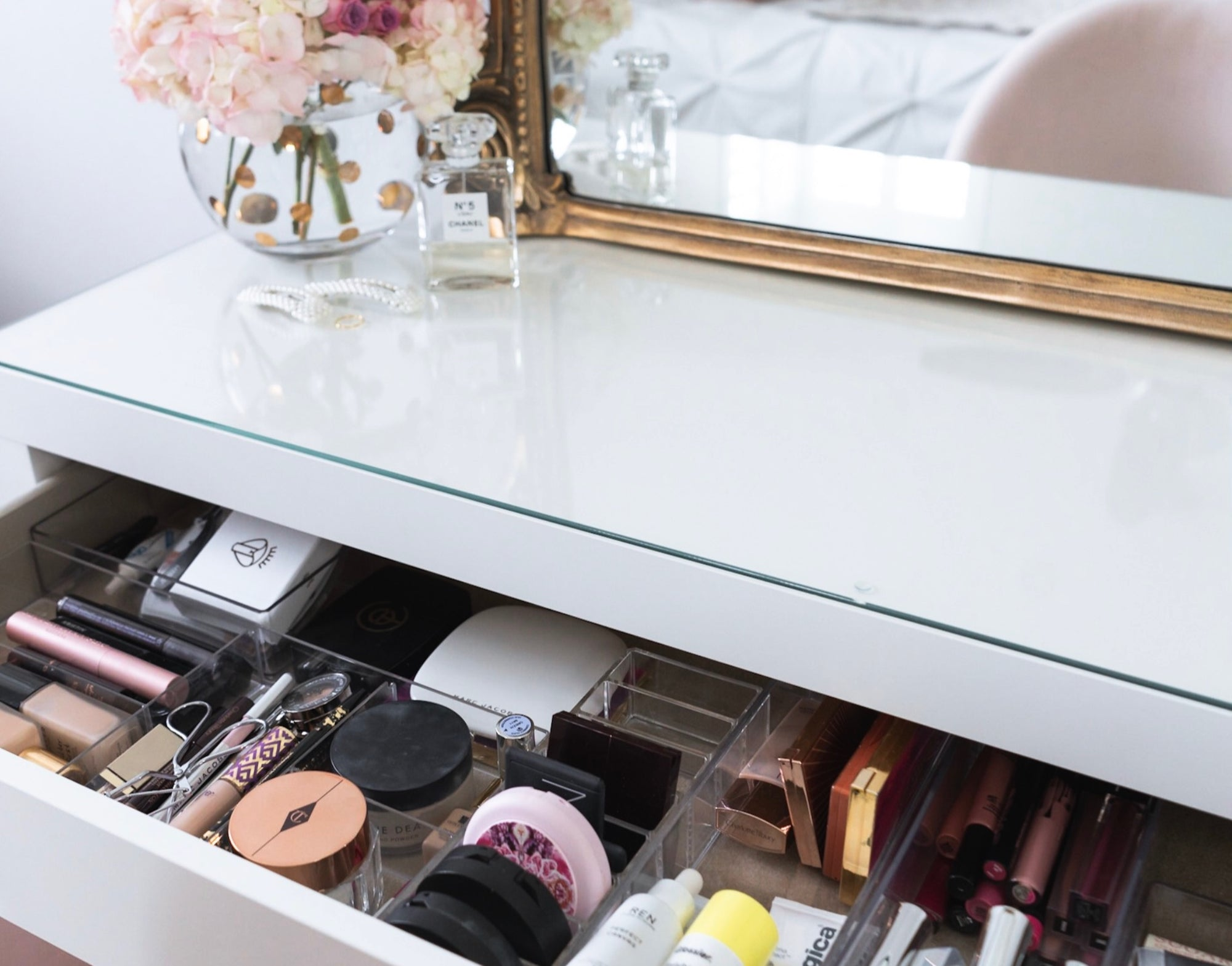 Tidying Up Your Beauty Collection, KonMari Style