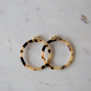 Sophie | Tort Hoops | Light - Gold - Found My Way Invercargill