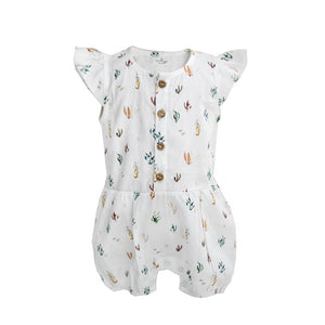 Burrow & Be | Ocean Flora  - Alice Romper - Found My Way Invercargill