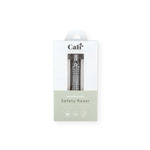 Caliwoods | Stainless Steel Safety Razor - Found My Way Invercargill