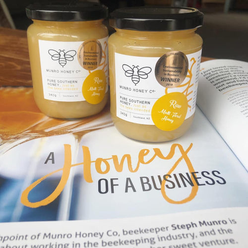 Munro Honey Co. Multi Floral Creamed Honey - Found My Way Invercargill