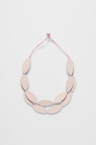 ELK | Leaf Necklace - Blush - Found My Way Invercargill