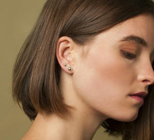 Jane Eppstein | Dome Stud Earrings - Found My Way Invercargill