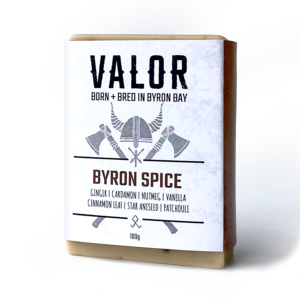 Valor | Face & Body Soap - Bryon Spice - Found My Way Invercargill