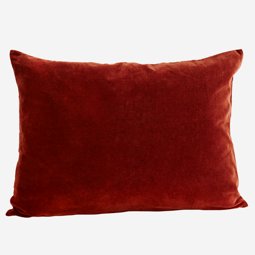 Velvet Cushion Cover in Tandoori Spice - Found My Way Invercargill