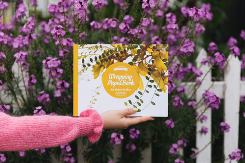 The Great NZ Wrapping Paper Book - NZ in Bloom - Found My Way Invercargill