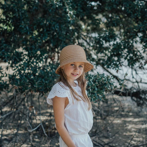 Sophie | So Shady Mini Hat - Natural - Found My Way Invercargill