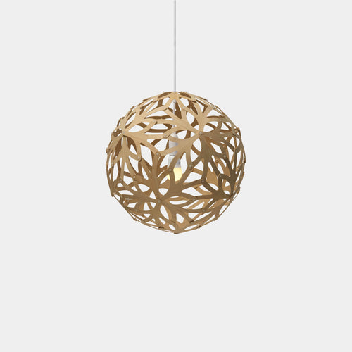 David Trubridge | Floral Pendant Kitset | 400mm - Natural - Found My Way Invercargill