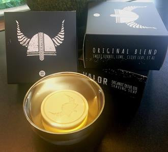 Valor | Olive Oil Shaving Soap & Dish - Found My Way Invercargill