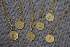 Charlene K Gold Initial Necklace