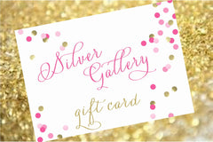 Silver Gallery Gift Card