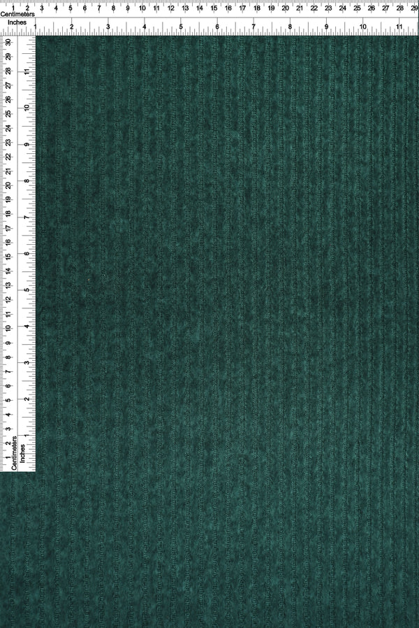 KNT3834 -H.DEEP TEAL  RIBBED, SOLID KNIT