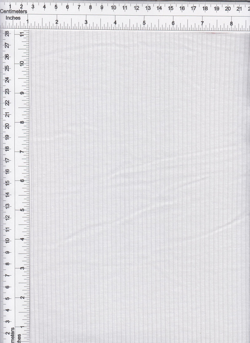 KNT3422 -WHITE OB  RIBBED, SOLID KNIT