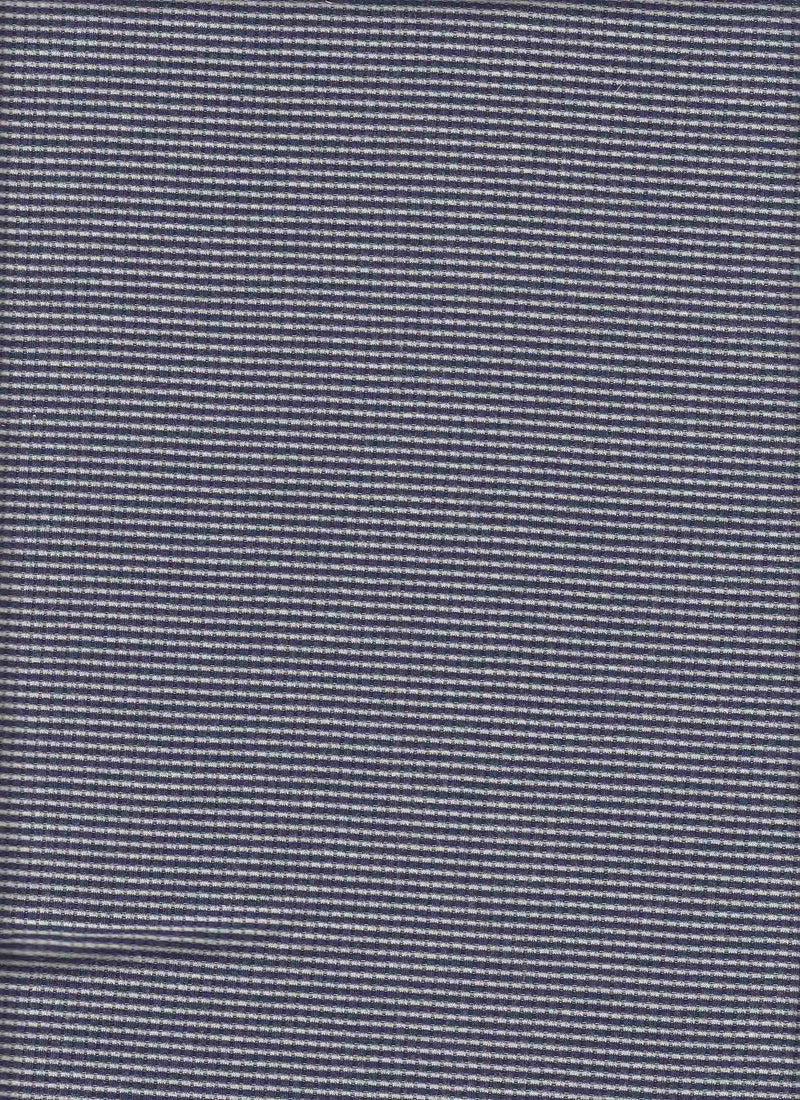 KNT3564 -NAVY/IVORY  YARN DYED KNIT