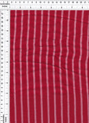 CRP4092 -RED VERTICAL STRIPE, STRIPE SOLID WOVEN