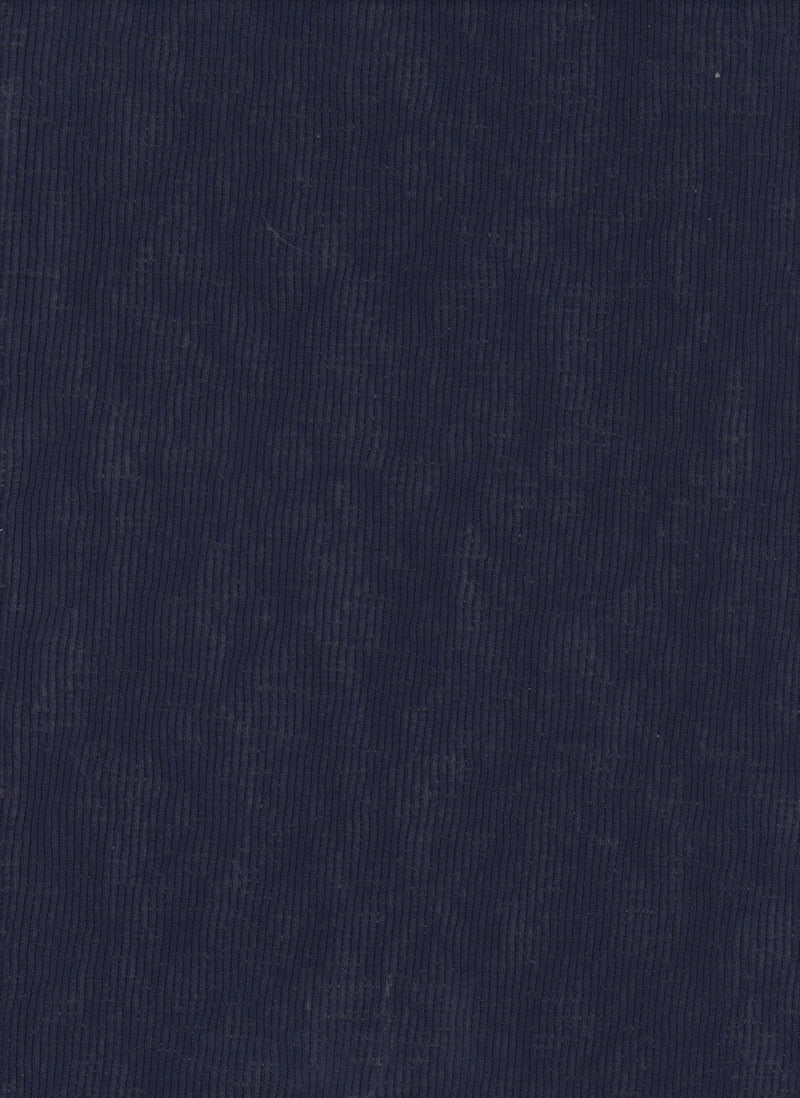 KNT3973 -NAVY  SOLID KNIT