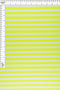 KNT3072-NEON -NEON YELLOW/IVORY  YARN DYED KNIT