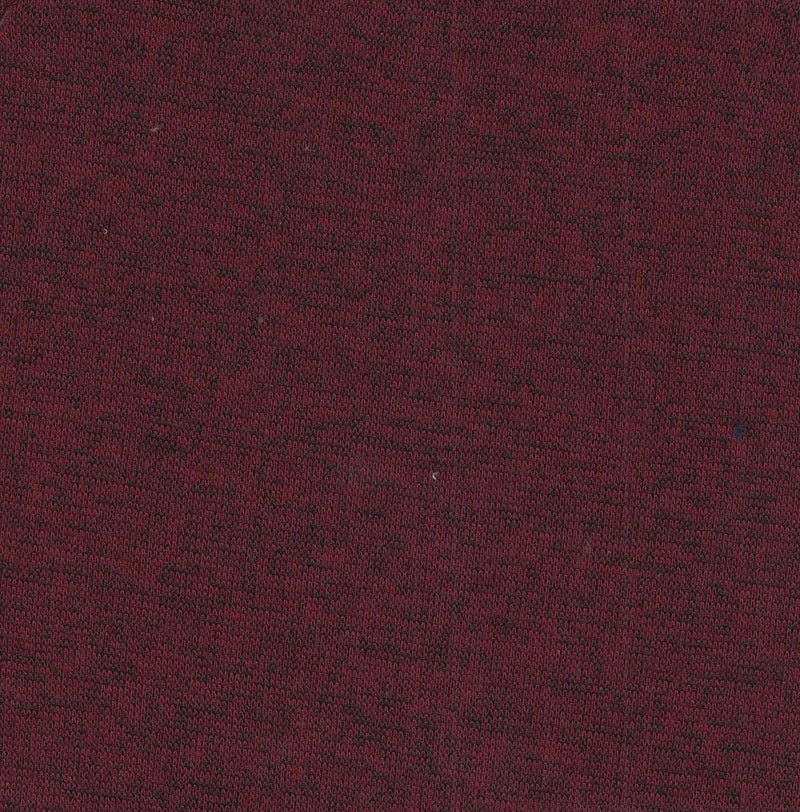 KNT3361 -BURGUNDY  SOLID KNIT