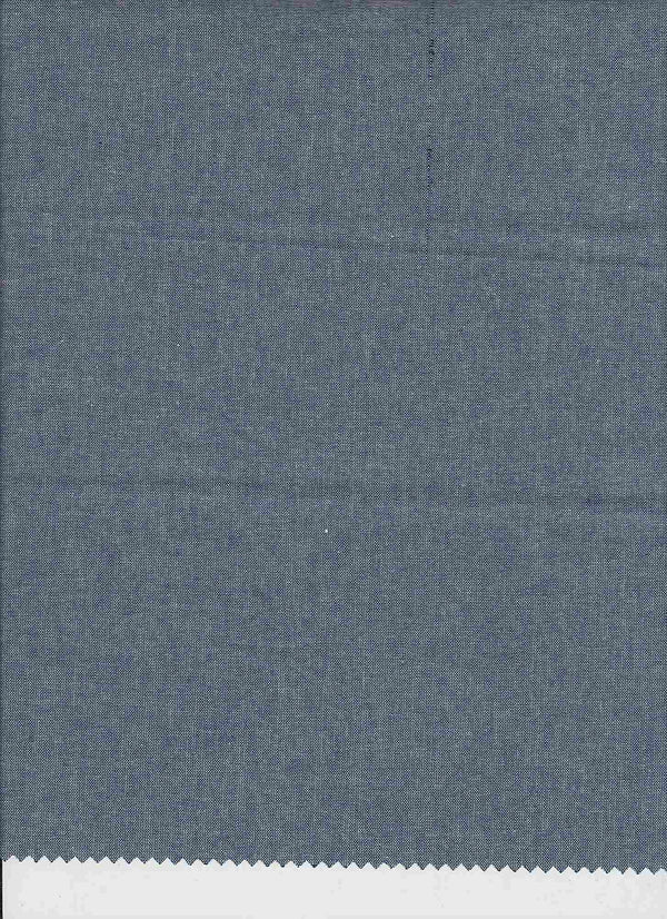 CHAMBRAY -INDIGO/WHITE