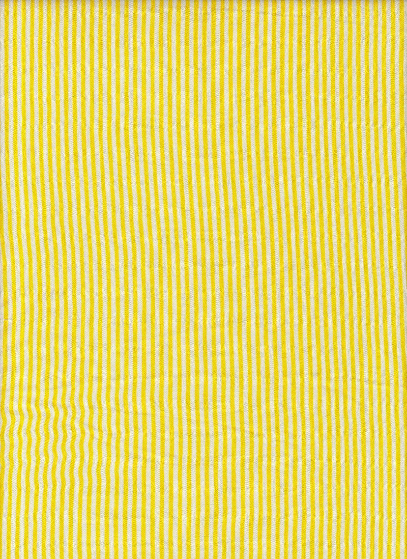 CRP3143-DU1333 -YELLOW  PRINT, SOLID WOVEN