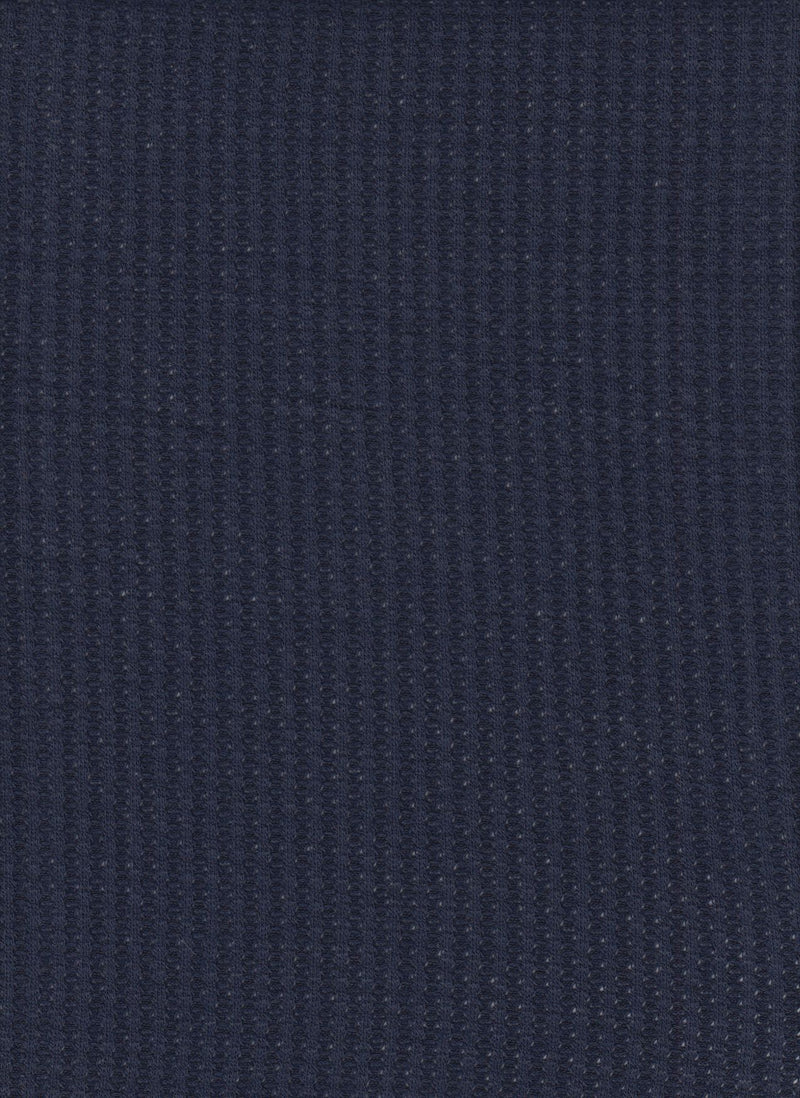 KNT3634 -NAVY  SOLID KNIT